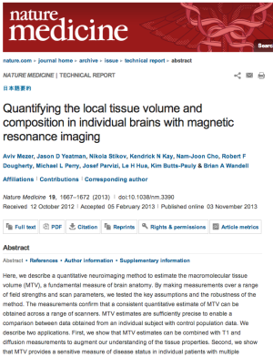 http://white.stanford.edu/~brian/papers/mri/2013-Mezer-NatureMedicine.pdf